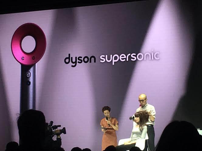 ダイソンスーパーソニックヘアドライヤー